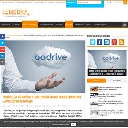 Oodrive lève 65 millions d'euros pour devenir le leader européen de la protection de données