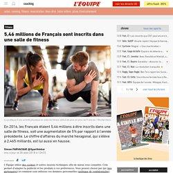 5,46 millions de Français sont inscrits dans une salle de fitness - Fitness
