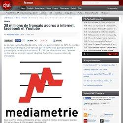 38 millions de français accros à internet et aux réseaux sociaux
