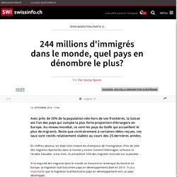 244 millions d'immigrés dans le monde, quel pays en dénombre le plus?