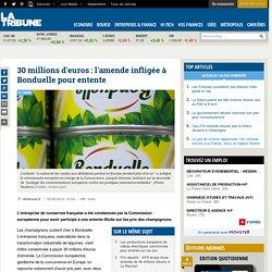 30 millions d'euros: l'amende infligée à Bonduelle pour entente