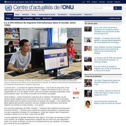 Rapport ONU 2015