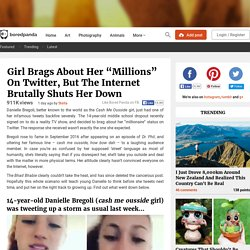 "Girl Brags About Her ""Millions"" On Twitter, But The Internet Brutally Shuts Her Down"