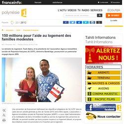 150 millions pour l'aide au logement des familles modestes - polynésie 1ère