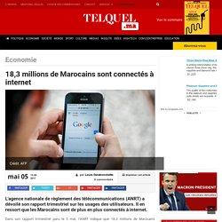 18,3 millions de Marocains sont connectés à internet