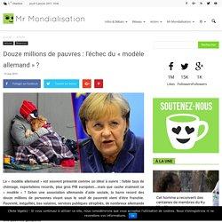 Douze millions de pauvres : l'échec du «modèle allemand» ?
