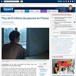 Plus de 8 millions de pauvres en France