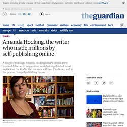 Amanda Hocking, the writer who made millions by self-publishing online