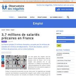 3,7 millions de salariés précaires en France