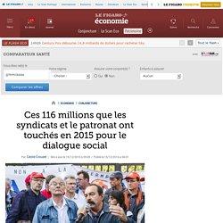 Ces 116 millions que les syndicats et le patronat ont touchés en 2015 pour le dialogue social