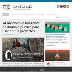 14 millones de imágenes de dominio público para usar en tus proyectos
