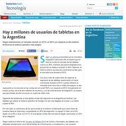 Hay 2 millones de usuarios de tabletas en la Argentina - lanacion.com