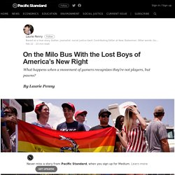 On the Milo Bus With the Lost Boys of America's New Right