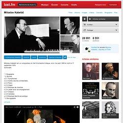 Miloslav Kabeláč – Découvrez de la musique, des concerts, des stats, & des photos sur Last