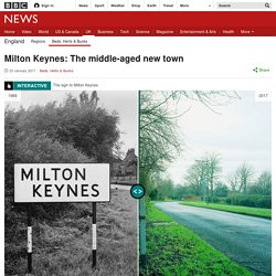 Milton Keynes: The middle-aged new town