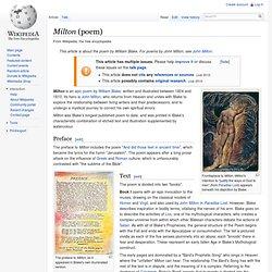 Milton a Poem