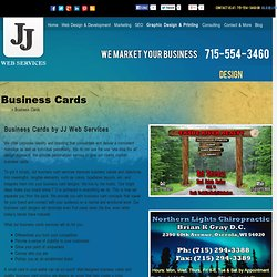Cheap Business Cards Services Wisconsin, Minnesota
