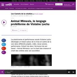 Animal Mimesis, le langage protéiforme de Violaine Lochu