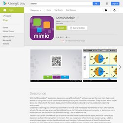 MimioMobile – Applications Android sur Google Play