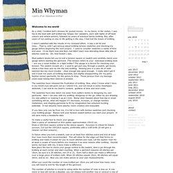 Min Whyman » 2010 » July