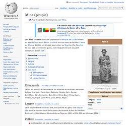 Mina (peuple)