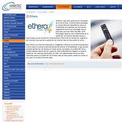 Ethera - Minatec Entreprises Grenoble