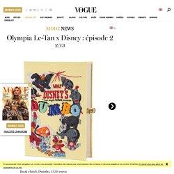 Les sacs et minaudières-livres Olympia Le-Tan x Disney