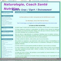 La fraise, fruit minceur. - Naturologie, Coach Santé Nutrition