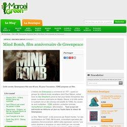 Mind Bomb, film anniversaire de Greenpeace