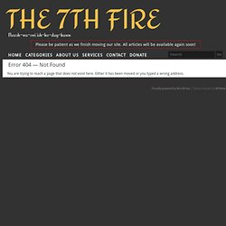 Mind Control | The 7th Fire