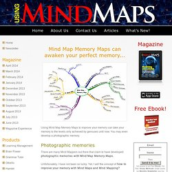 Mind Map Memory Maps