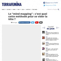 """Le """"mind mapping"""" : c'est quoi cette méthode pour se vider la tête ?"""