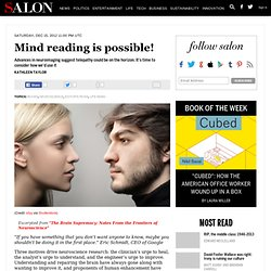 Mind reading is possible!