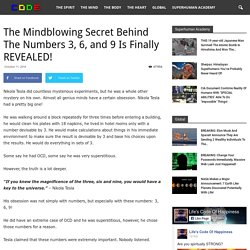 The Mindblowing Secret Behind The Numbers 3, 6, and 9 Is Finally REVEALED!