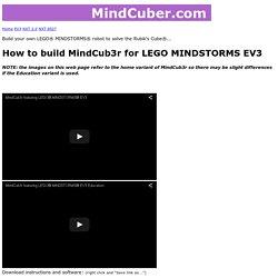 MindCub3r for EV3