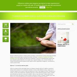 7 ejercicios Mindfulness que puedes realizar en casa