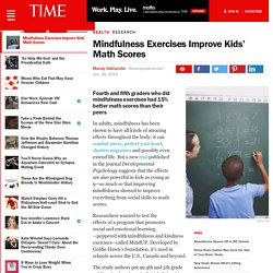 Kids Meditation: Mindfulness May Increase Children's Math Scores