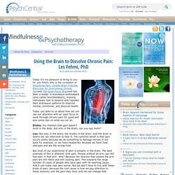 Using the Brain to Dissolve Chronic Pain: Les Fehmi, PhD