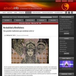Advaita Artículos: No-dualidad y Mindfulness - dos grandes tradiciones que combinan entre sí, por Michael W. Taft