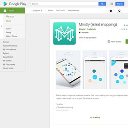 ♥♥ Mindly (mind mapping) – Applications sur Google Play