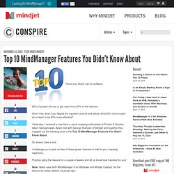 Top 10 MindManager Features You Didn't Know About | The Mindjet Blog