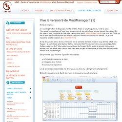 Mindjet MindManager 9, logiciel de Mind mapping pour organiser idées, informations, et tâches