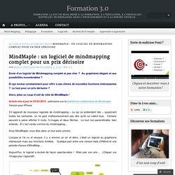 MindMaple : un logiciel de mindmapping complet pour un prix dérisoire « Trouve ta voie !