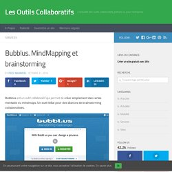 Bubblus. MindMapping et brainstorming