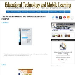 The Top 9 Mindmapping and Brainstorming Apps for iPad
