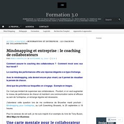 Mindmapping et entreprise : le coaching de collaborateurs – Formation 3.0