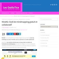 Mind42. Outil de mindmapping gratuit et collaboratif – Les Outils Tice