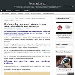 Mindmapping : comment structurer une offre commerciale avec Mindomo