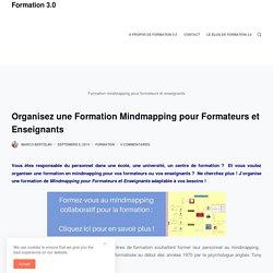 Organisez une Formation Mindmapping pour Formateurs et Enseignants – Formation 3.0