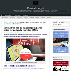 Devenez un pro du mindmapping avec notre formation Je maîtrise XMind – Formation 3.0